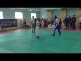 Андерсон Ирина 2 бой (финал). Чемпионат РК по КЭМПО К-1 2014