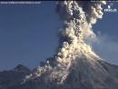 извержение вулкана