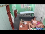 FakeHospital.com Doctor decides sex is the best treatment available (fh1119  03.02.2015 г.) Clinic, Nurse, Hidden Camera, Al