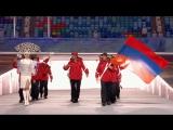 Открытие Зимних олимпийских игр в Сочи 2014.Сборная Армении